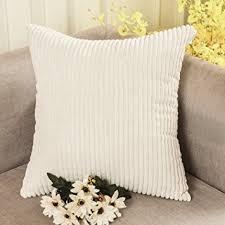 Accent Pillows For Sofa Amazon Com Home Brilliant Solid Decorative Accent Pillow Case
