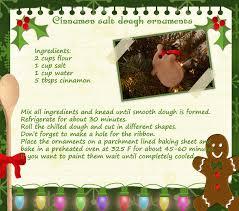 cinnamon salt dough ornaments crafthubs