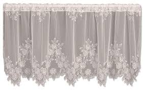 Victorian Curtains Tea Rose Tier Victorian Curtains By Heritage Lace