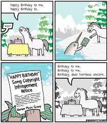Unicorn Birthday Meme - 206 birthday 1111 comics