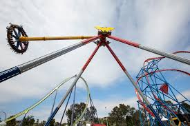 Six Flags Superman Ride Power Packed New Pendulum Ride Wonder Woman Lasso Of Truth Opens
