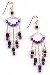 Wire Chandelier Earrings 1 How To Make Bead And Wire Chandelier Earrings Tutorials The