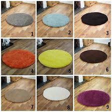 solid pattern round area rugs ebay