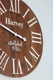 handmade wood clock u2039 a cottage