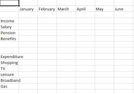 how to create a budget spreadsheet step by step guide