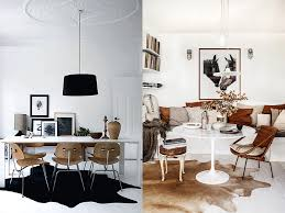 Cowhides And Dining Rooms Design Seeker - Rugs for dining room