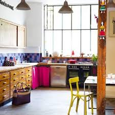 cuisine coloree une cuisine colorée kitchens bohemian kitchen and kitchen retro