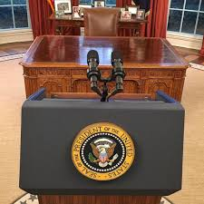 obama at desk president obama will speak on terrorism from a podium in the oval