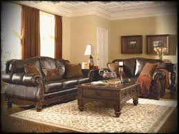 classic living room furniture sets ashley living room furniture sets with classical leather sofas and