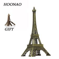 eiffel tower decorations bronze tone eiffel tower decoration mini buildings crafts