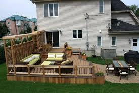 Decks And Patios Designs Patio And Deck Ideas For Backyard Traditional Deck Patio Deck