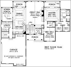 one house plans lovely one floor house plans with walkout basement home