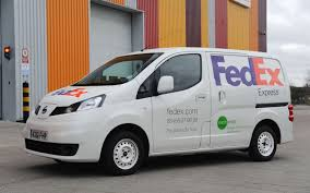 nissan nv200 white green delivery fedex begins testing an all electric nissan nv200