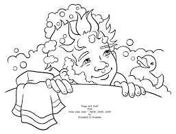 hand washing coloring pages bestofcoloring com