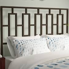 King Metal Headboard Metal Headboards You Ll Wayfair