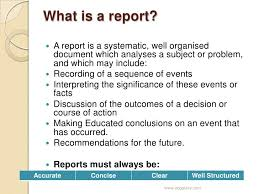 informational report template writing information reports