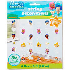 bubble guppies hanging party decorations party supplies walmart