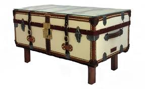 old trunks as coffee tables steamer trunk table tree antique cabin
