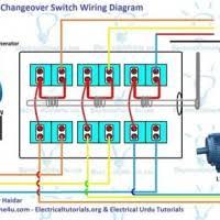 wiring diagram changeover switch