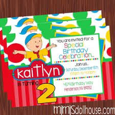 caillou party supplies caillou activity placemats72397 birthday party ideas