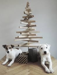 diy project modern wooden christmas tree design sponge wooden