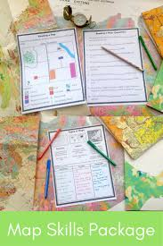 Package Mapping Best 25 Map Skills Ideas On Pinterest Teaching Map Skills Map