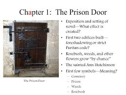 the scarlet letter by nathaniel hawthorne chapter 1 the prison