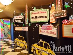 theme decor ideas best 25 broadway theme ideas on broadway party theme