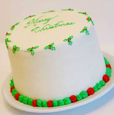 White Christmas Cake Ideas by Christmas Cake Red U0026 Green Layer Cake I Am Baker