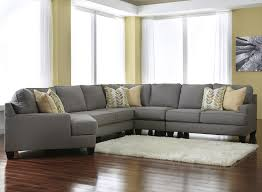 Modern Furniture Pittsburgh by Modern 5 Piece Sectional Sofa With Left Cuddler U0026 Reversible Seat