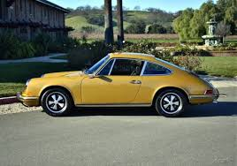 gold porsche 911 seller of cars 1972 porsche 911 gold black