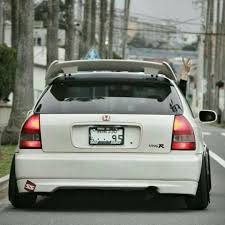honda civic modified white honda civic typer ek9 ek white mugen hks tuned
