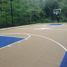 boston backyard basketball court landscape traditional with