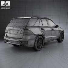 mercedes suv 2012 models 3d mercedes ml class amg w166 2012 cgtrader