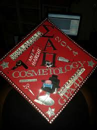 cosmetology graduation cap design diy pinterest cosmetology