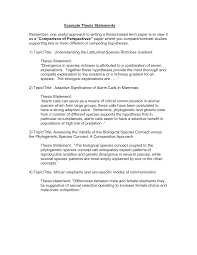 View Resume Examples by Sample Thesis Introduction