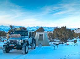 jeep utah suggestions for snow camping in northern utah backcountry post