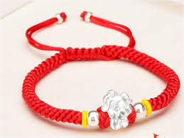 lucky charm red bracelet images 999 silver 12 chinese zodiac signs hand woven red rope charm jpeg