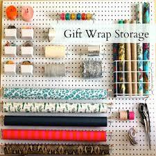 gift wrap storage ideas gift wrap storage by leopard plaid gift wrap storage