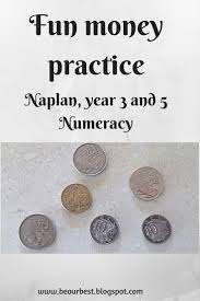 be our best naplan year 3 and 5 numeracy fun money practice