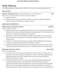 curriculum vitae for graduate application template template post graduate cv template