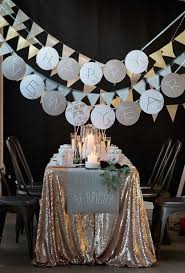 New Years Eve Table Decorations Ideas by New Year U0027s Eve Decorating Ideas Pretty Designs