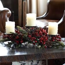 candelabra centerpiece pine berry candelabra centerpiece