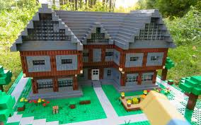 full size lego house home design lego minecraft steves house youtube for sale unique