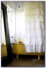 clawfoot tub shower curtain solution chairs home decorating