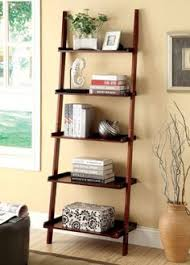 Wood Magazine Ladder Shelf Plans by Ladder Shelf In White Ac6213wh Furniture 77 And Style