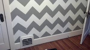 Wall Painters by The Official Guide To Painting A Chevron Wall In 6 Simple Steps