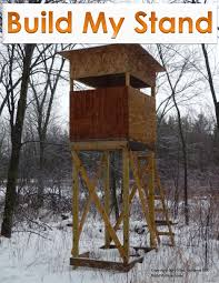 Building A Box Blind Treehouse Plans Design Of Your House U2013 Its Good Idea For Your Life