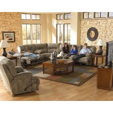 Overstuffed Sectional Sofa Power Reclining Sectional Sofa By Catnapper