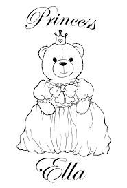 free personalised coloring pages coloring pages kids